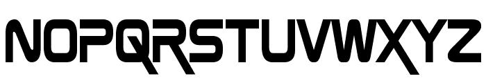 Zebulon Condensed Font LOWERCASE