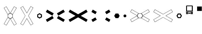 Zeichen Dreihundert Font LOWERCASE