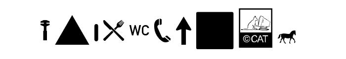 Zeichen Hundert Alt Font OTHER CHARS