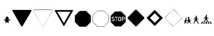 Zeichen Hundert Alt Font LOWERCASE
