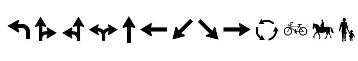 Zeichen Zweihundert Alt Font LOWERCASE