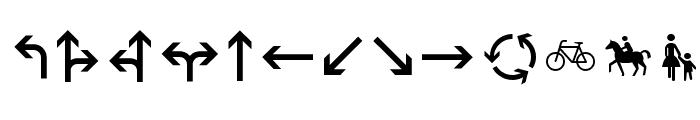 Zeichen Zweihundert Font LOWERCASE