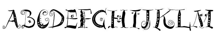 ZeitGeisterbahn Font UPPERCASE