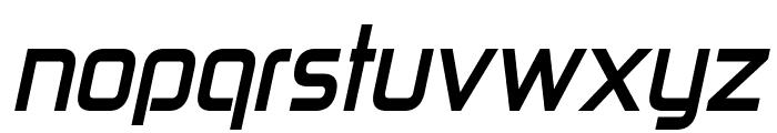 Zekton Bold Italic Font LOWERCASE