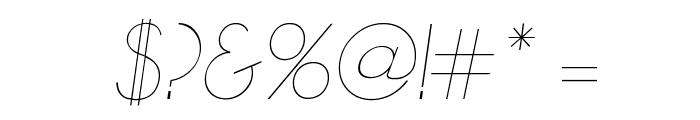 Zelda Italic Font OTHER CHARS
