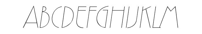 Zelda Italic Font UPPERCASE