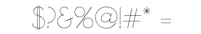 Zelda Font OTHER CHARS