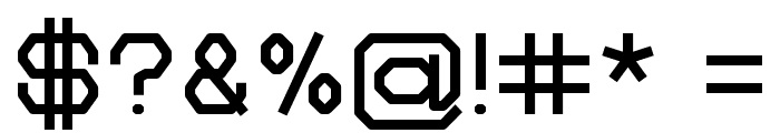 Zelta-Six Demo Light Font OTHER CHARS