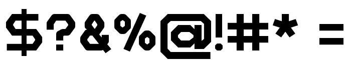 Zelta-Six Demo Font OTHER CHARS