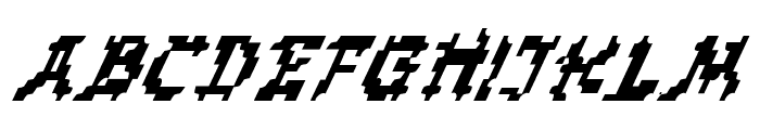 Zen Masters Italic Font LOWERCASE