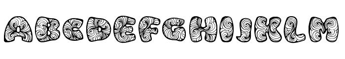 Zen3 Regular Font UPPERCASE