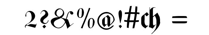 ZenFrax Font OTHER CHARS