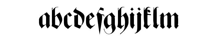 ZenFrax Font LOWERCASE