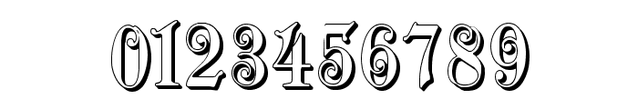 ZendaEmbossed Font OTHER CHARS