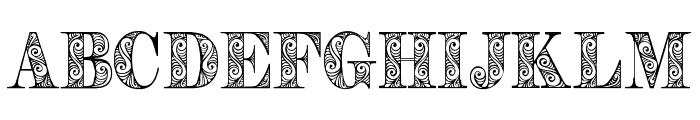 Zengo Demo Font UPPERCASE