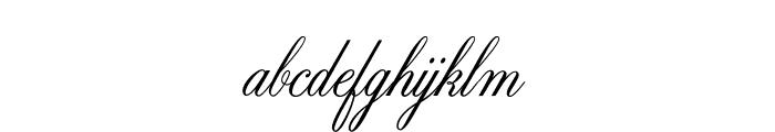 ZenithCP Font LOWERCASE