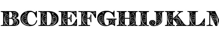 Zenone Bold Font LOWERCASE