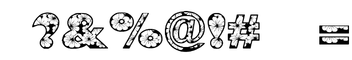 Zensyrom Font OTHER CHARS