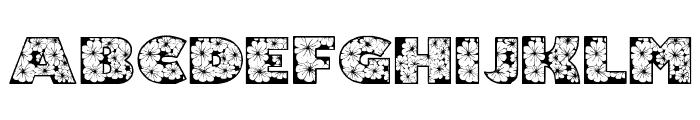 Zensyrom Font UPPERCASE