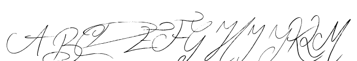 Zentaiges Font UPPERCASE