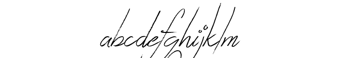 Zentaiges Font LOWERCASE