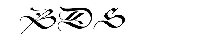 ZentenarZier Font OTHER CHARS