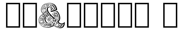 Zentyp Demo Regular Font OTHER CHARS