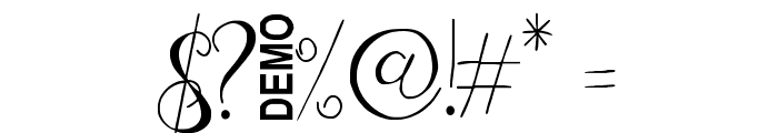 Zenyth Script Font OTHER CHARS