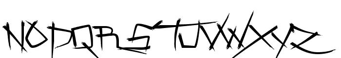 Zenzai Itacha Font UPPERCASE