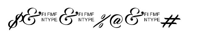 Zephan Demo Ver. Font OTHER CHARS