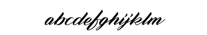 Zephan Demo Ver. Font LOWERCASE