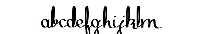 Zephiroth Straight Font LOWERCASE