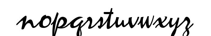 ZephyrScriptFLF Font LOWERCASE