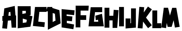 Zerengetti Black Font LOWERCASE