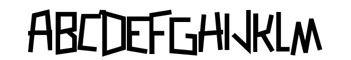 Zerengetti Bold Font UPPERCASE