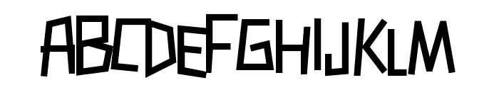 Zerengetti Bold Font LOWERCASE