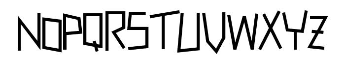 Zerengetti Medium Font UPPERCASE