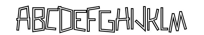 Zerengetti SemiBold Font UPPERCASE