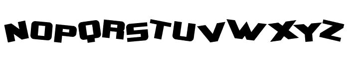 Zero Gravity Extended Bold Font UPPERCASE