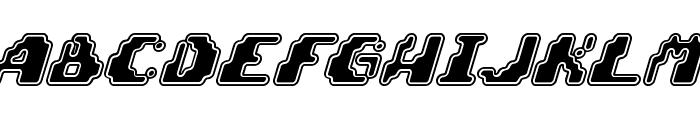 Zero Velocity [BRK] Font UPPERCASE
