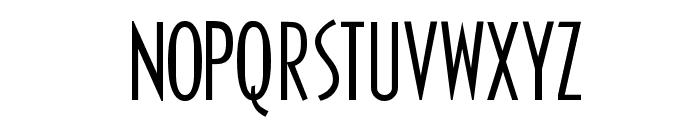 Zero Font UPPERCASE