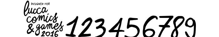 Zerocalcare Script Font OTHER CHARS