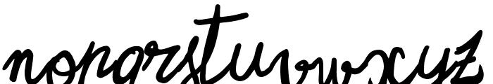 Zerocalcare Script Font UPPERCASE