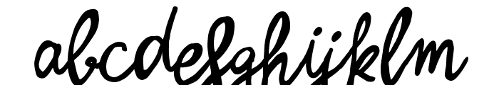 Zerocalcare Script Font LOWERCASE