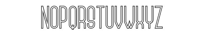 Zerotype Font UPPERCASE