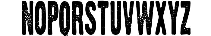 Zerox Font LOWERCASE