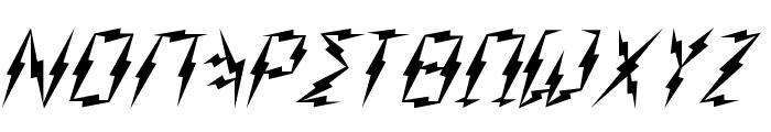 Zeus Font UPPERCASE
