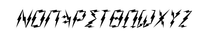 Zeus Font LOWERCASE