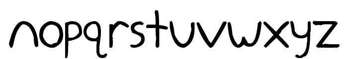 zeohand Font LOWERCASE