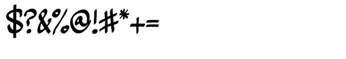 Zerega Regular Font OTHER CHARS